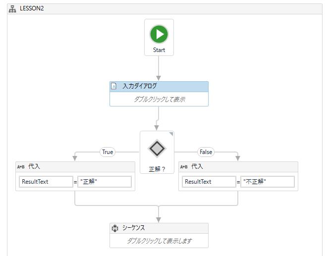 UiPath 入力ダイアログでボタンやコンボボックスを指定する方法
